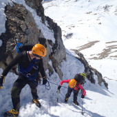 A Perfect Winter Mountaineering Initiation in the Alps