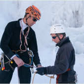 My First Ice Climbing Adventure in the Alps