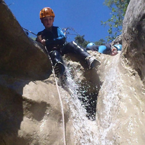 Canyoning over the edge