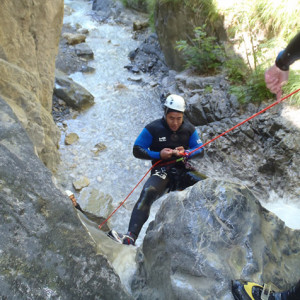 Canyoning Sale Sharks Rugby team