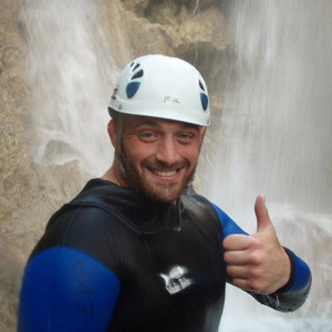 Canyoning Aston Croall