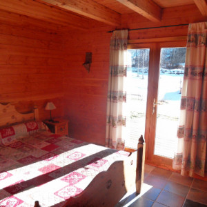 Chalet des Alpages double room