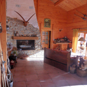 Chalet des Alpages - living area