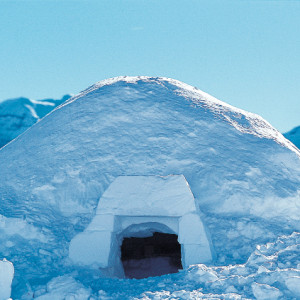 Igloo an example of an igloo in Orcieres