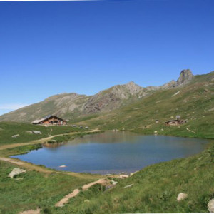 Refuge de la Blanche in Summer
