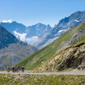 Road Cycling alpine roads