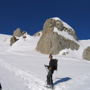 Ski touring in the Ecrins Palastre