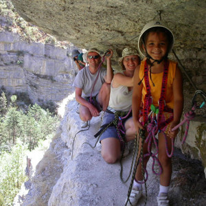 Kiddie Via Ferrata Agnielle young girl
