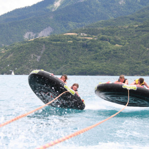 Tubing in the Alps