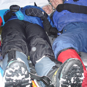 Igloo Expedition - building and sleeping in an igloo for the night