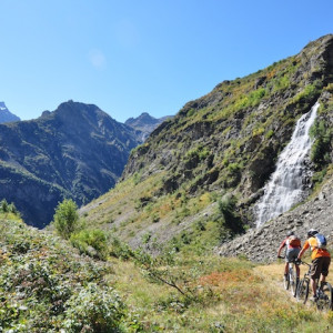 mountain biking valgaudemar ecrins