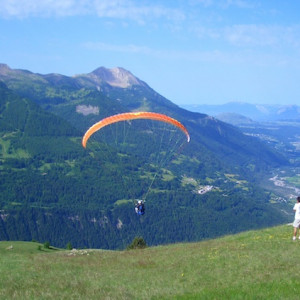 Paragliding in the Champsaur Southern french Alps
