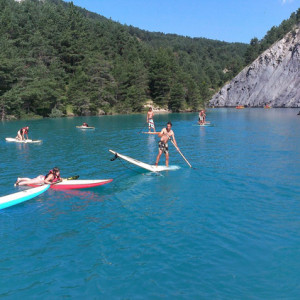Stand Up Paddle lake Alps France