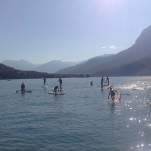 Stand Up Paddle tour Alps