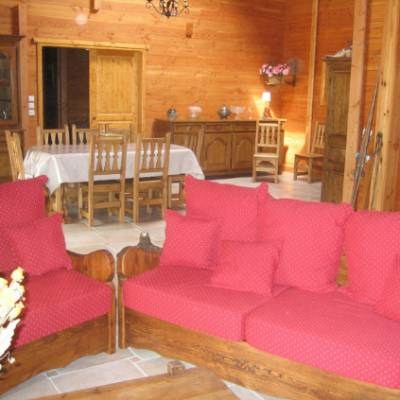 Chalet des Alpages comfy chairs