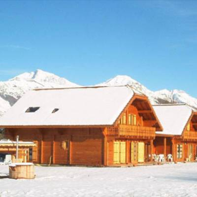 Chalet des Alpages in winter