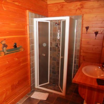 Chalet des Alpages bathroom