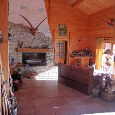 Chalet des Alpages - living area