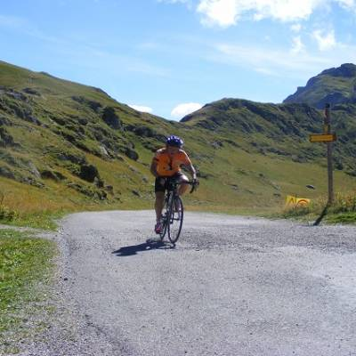 Ride the Alps col de Sarren Alpe d'Huez