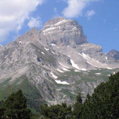 Obiou Mountain in the Ecrins