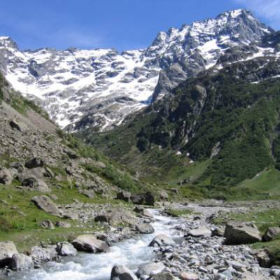 Sirac mountain in the Ecrins