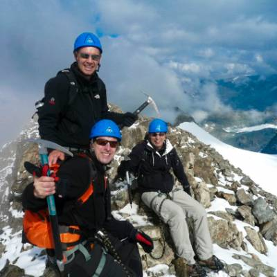 mountaineering in the Alps
