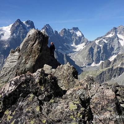 POinte des Cineastes in the Ecrins