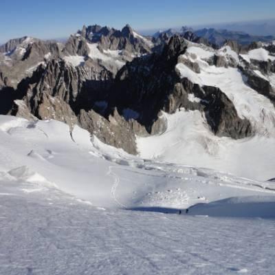 Barre des Ecrins Glacier