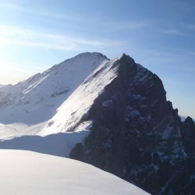 Barre des ecrins from Dome des ecrins