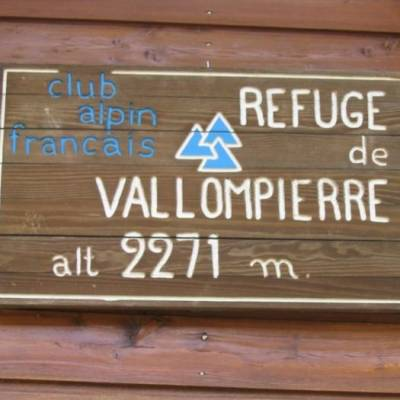 The refuge du Vallonpierre