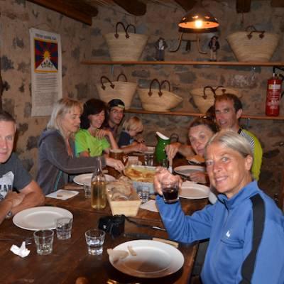 Refuge d tourond adults dinner