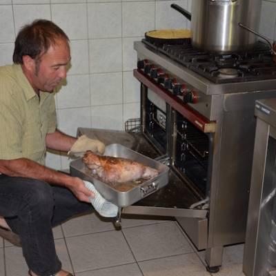 Refuge du Tourond guardian and chef