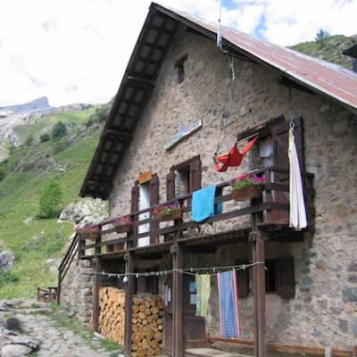 Refuge du Tourond in the Ecrins