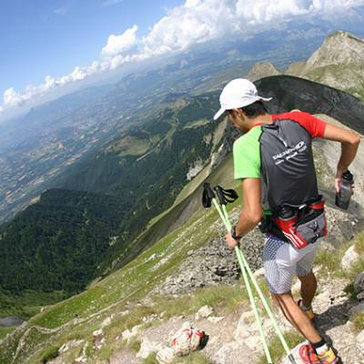 Trail Running the UltraChampsaur in the French Alps