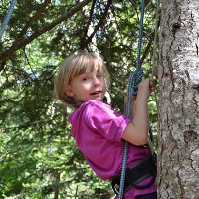 Tree Climbing - child climbing tree