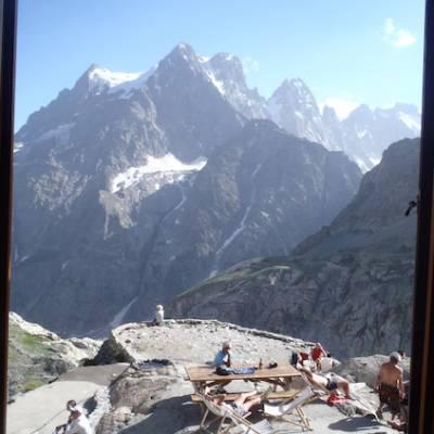 Refuge du Glacier Blanc in the Ecrins