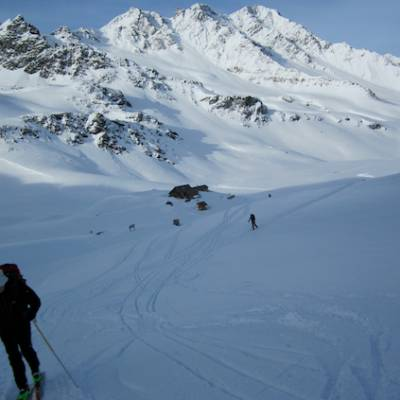The Queyras ski touring