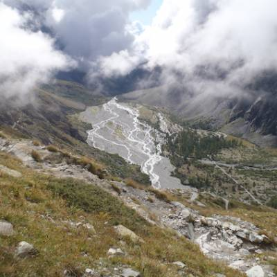 Way into Dome des Ecrins