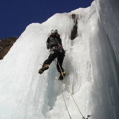 Ice Climbing in the Champsaur