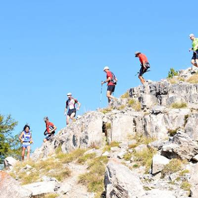 Gapencimes trail running race in the Undiscovered Alps