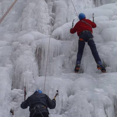 Ice Climbing Granny and Grandpa