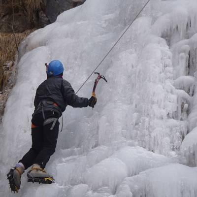 Ice Climbing cascae des Martins