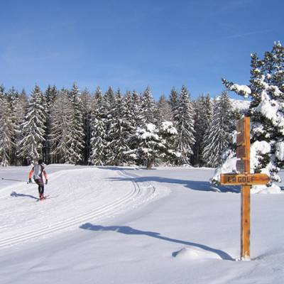 cross country ski pistes