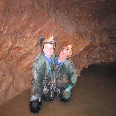 caving girls