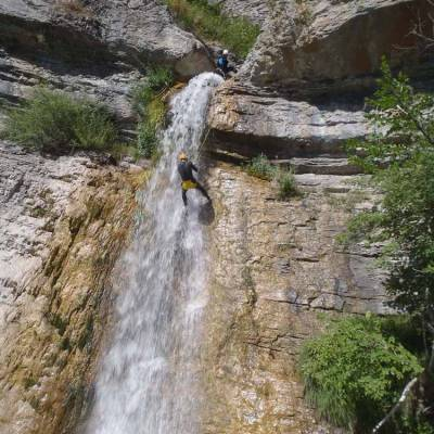 Canyoning-with-Undiscovered-Mountains-in-the-southern-french-alps-abseiling-waterfall.jpg