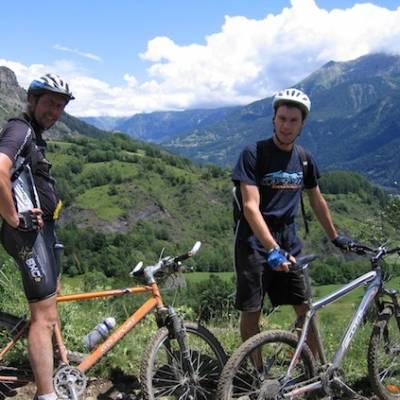 Mountain biking in the Champsaur and Valgaudemar