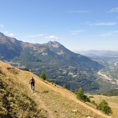 Mountain biking in the Champsaur and Valgaudemar
