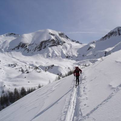 Ski Touring  up to Piolit