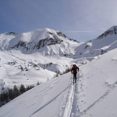 Ski Touring  up to Piolit