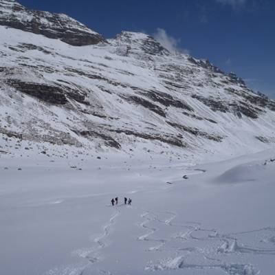 Ski touring in the middle of nowehere!